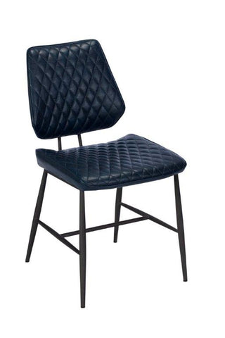 DALTON DARK BLUE DINING CHAIR - AVAILABLE TO ORDER