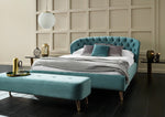 HEPBURN BED WITH CURVED HEADBOARD