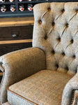 Hunting Lodge Harris Tweed Armchair