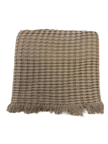 Stone Washed Cotton Throw