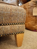 Harris Tweed Footstool