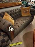 CHESTERFIELD HARRIS TWEED 2 SEATER - AVAILABLE TO ORDER
