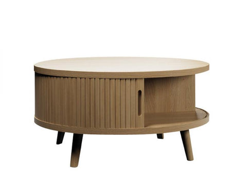 Tamba Round Grey Coffee Table