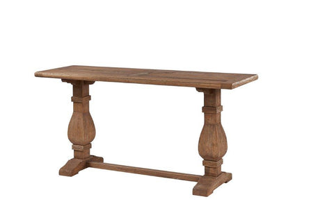 RECLAIMED ELM CONSOLE TABLE - TO ORDER