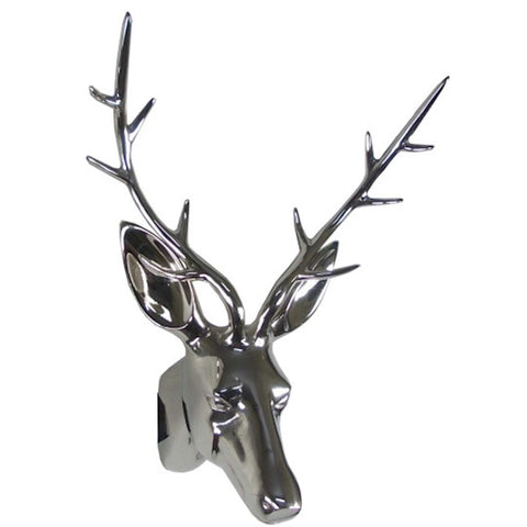 CHROME STAGS HEAD