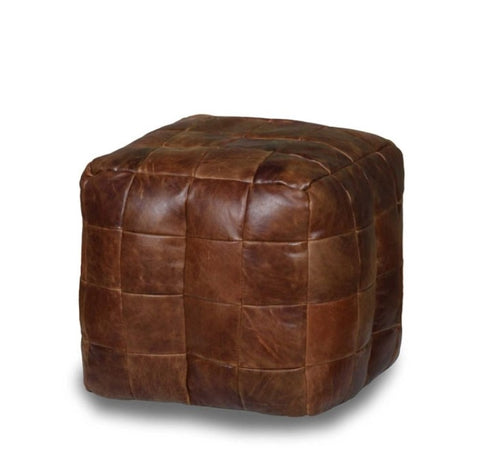 CERATO LEATHER FOOTSTOOL
