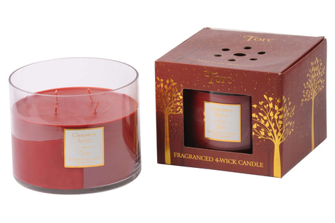 TORC 4 WICK CHRISTMAS CANDLES - SOLD OUT!