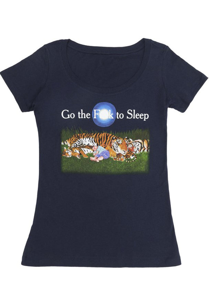 Go the F*ck to Sleep T-shirt | Women's
