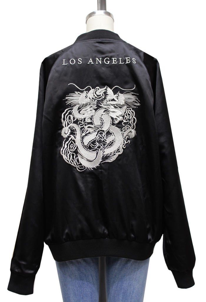 Los Angeles / Japan Reversible Bomber Jacket | UNISEX