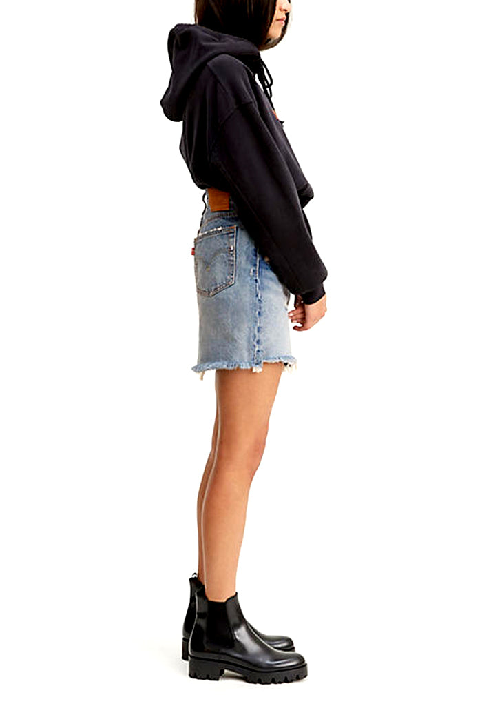 High Rise Decon Iconic BF Skirt | High Plains
