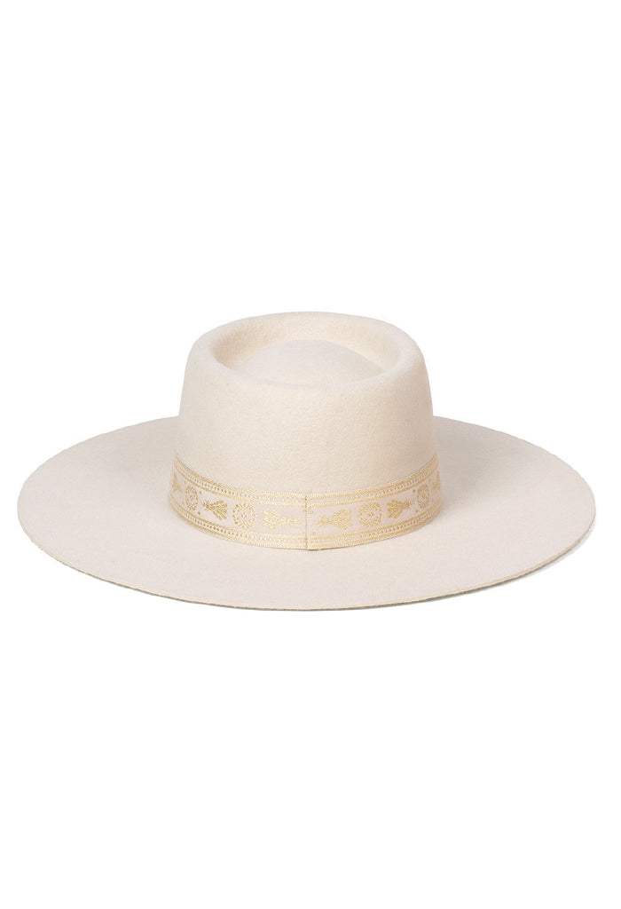 Juno Boater Hat | Cream