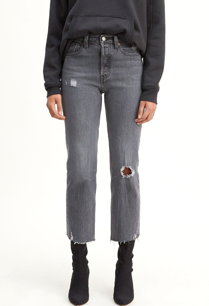 Wedgie Straight Jeans | Cabo Smoke