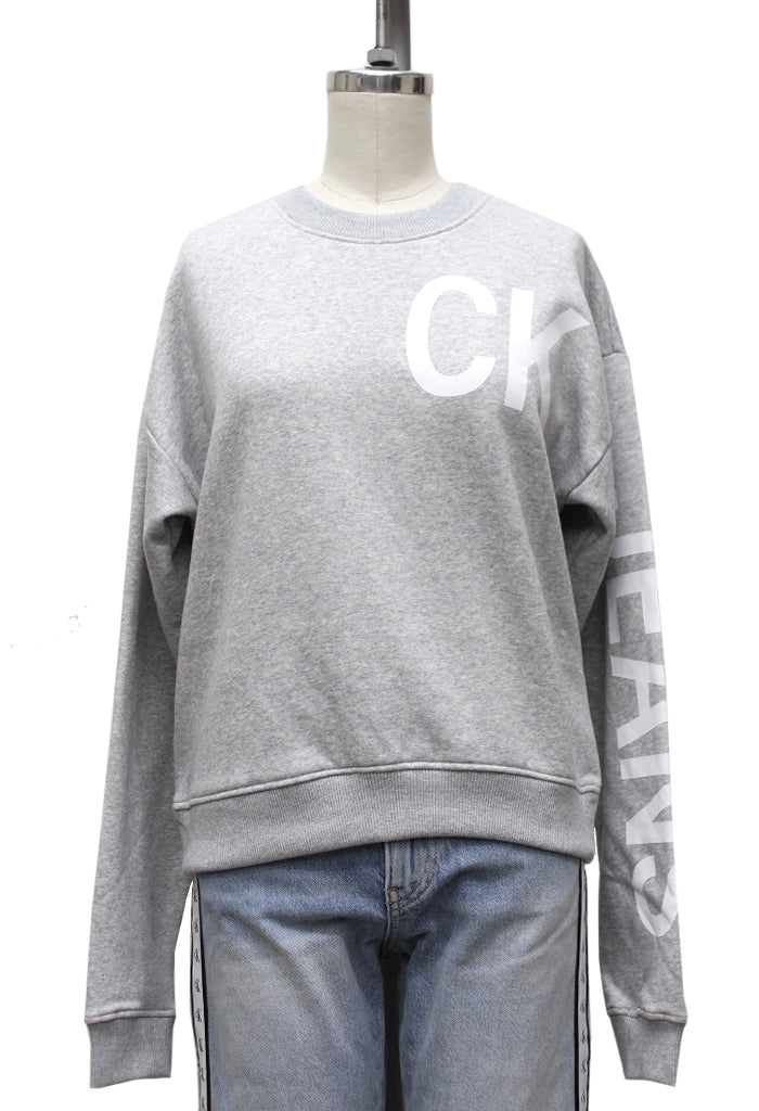 Hero Logo Crew Neck Sweater | Heather Grey