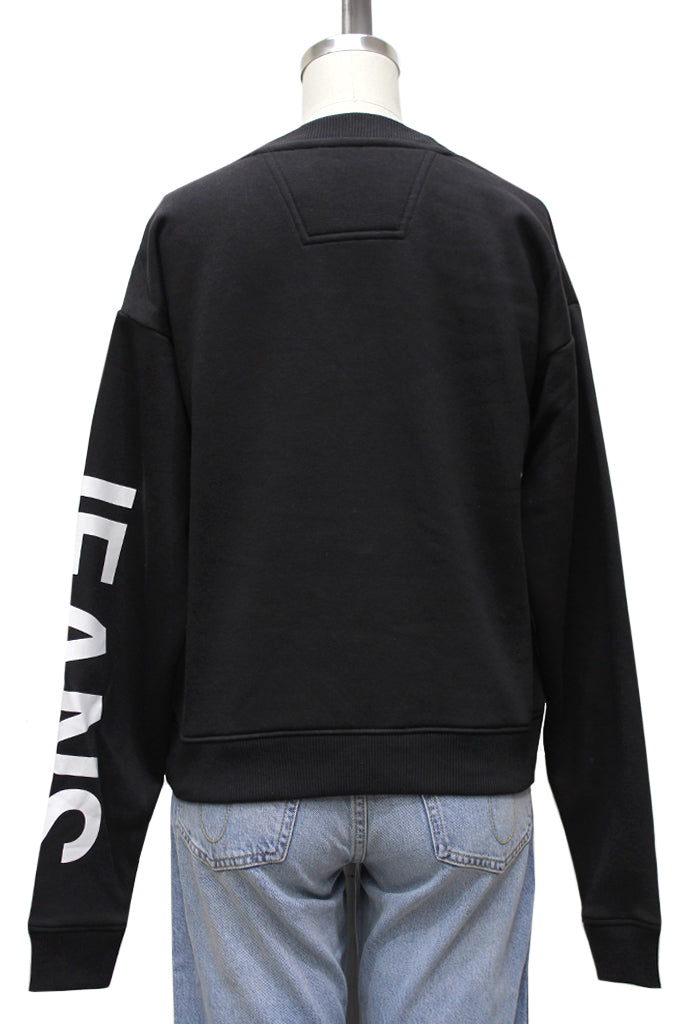 Hero Logo Crew Neck Sweater | Black