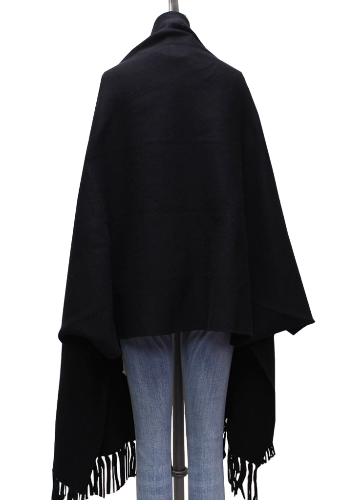 Kindly Shawl Scarf Cardigan | Black