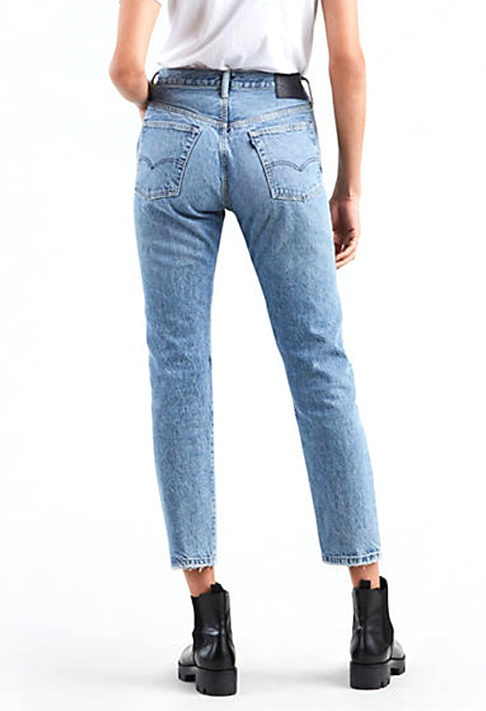501 Skinny Jeans | LMC Pacific Blue