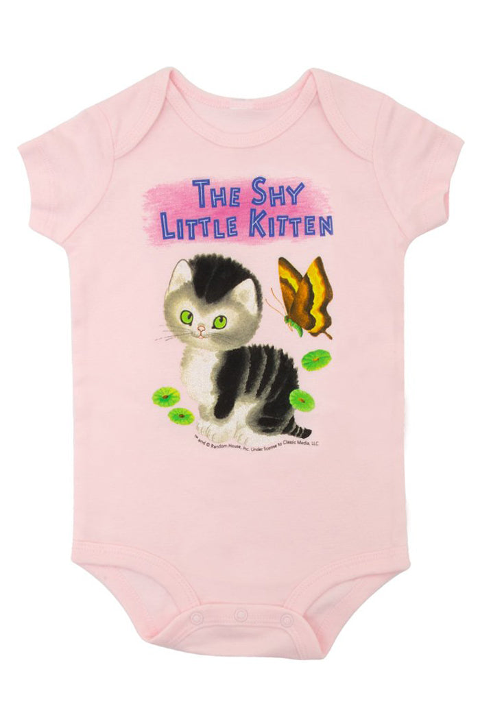 The Shy Little Kitten Onesie
