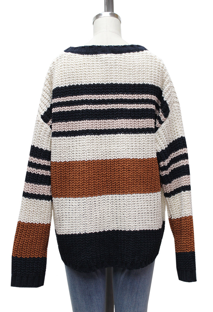 Windsor Stripe Sweater
