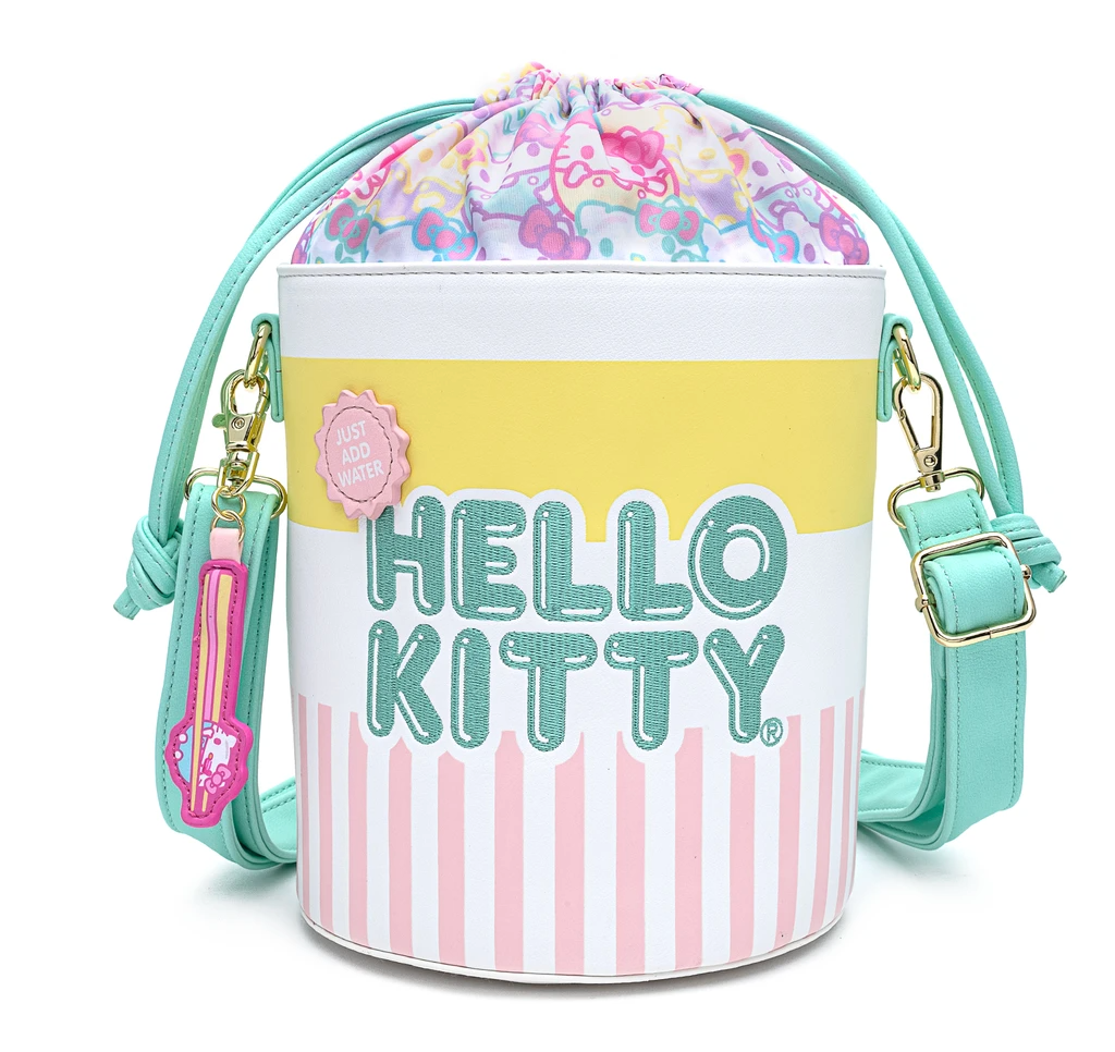Hello Kitty Cup O' Kitty Crossbody Bucket Bag