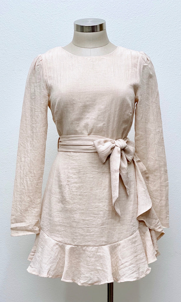 Pure & Simple Belted Dress