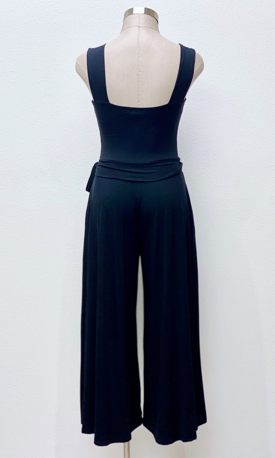 Dina Modal Knit Jumpsuit | Black
