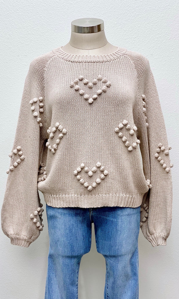 My Hearty Knit Sweater