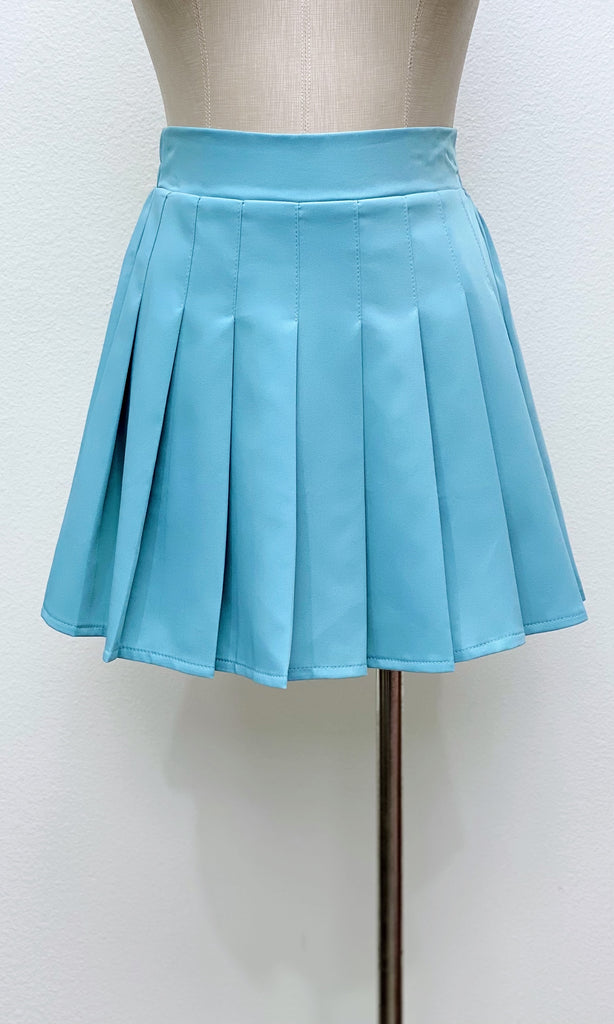 One Love Tennis Skirt | Teal