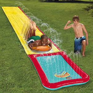 Slip 'N Slide Hydroplane XL Front View Children Playing Lifestyle
