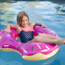 Load image into Gallery viewer, Splash Strawberry Donut Tube Pool Float