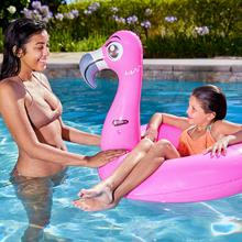 Load image into Gallery viewer, Splash Flamingo Pool Float