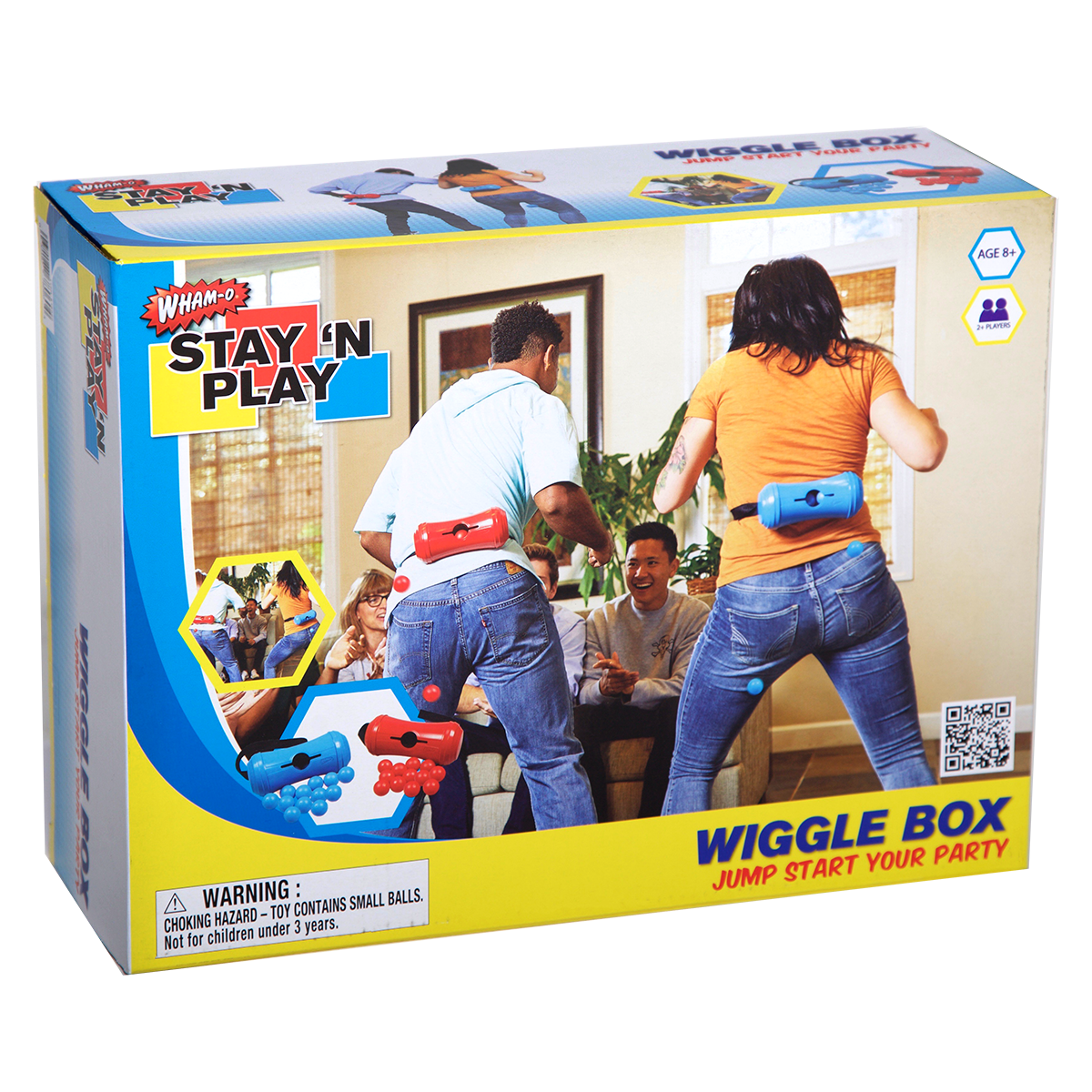 Wham-O Wiggle Box - Stay 'N Play on sale now and part of the Wiggle Box - Stay 'N Play of products.