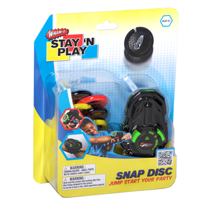 Snap Disc - Stay 'N Play Packaging Front View