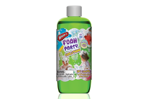 Foam Party™ Refill Solution from Wham-O. Hours of fun from the Fun Factory since 1948