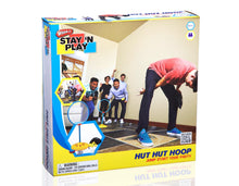 Load image into Gallery viewer, Hut Hut Hoop - Stay 'N Play Packaging Front View