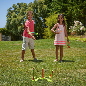 Game Time!® Hula Hoop® Ring Toss from Wham-O. Hours of fun from the Fun Factory since 1948
