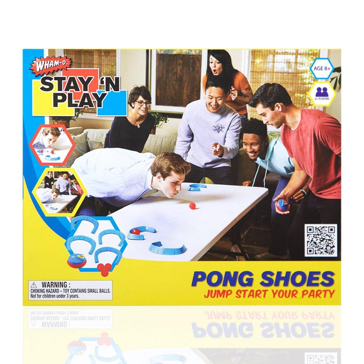 Pong Shoes - Stay 'N Play