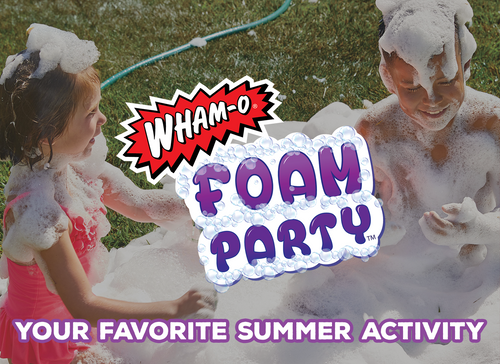 Foam Party - Your Favorite Summer Activity
