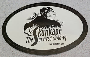 SkunkApe COVID-19 Sticker