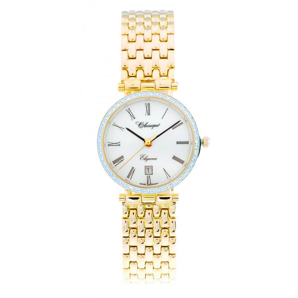 Classique Ladies Diamond Set Swiss Quartz Watch