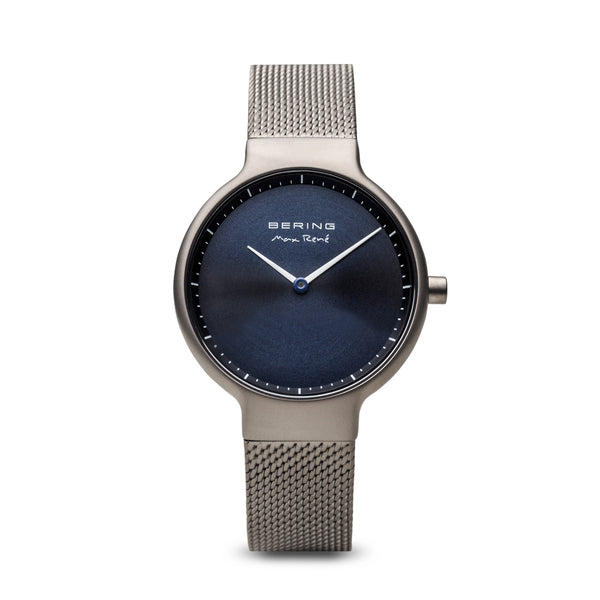Bering Max René Brushed Grey Watch 31mm