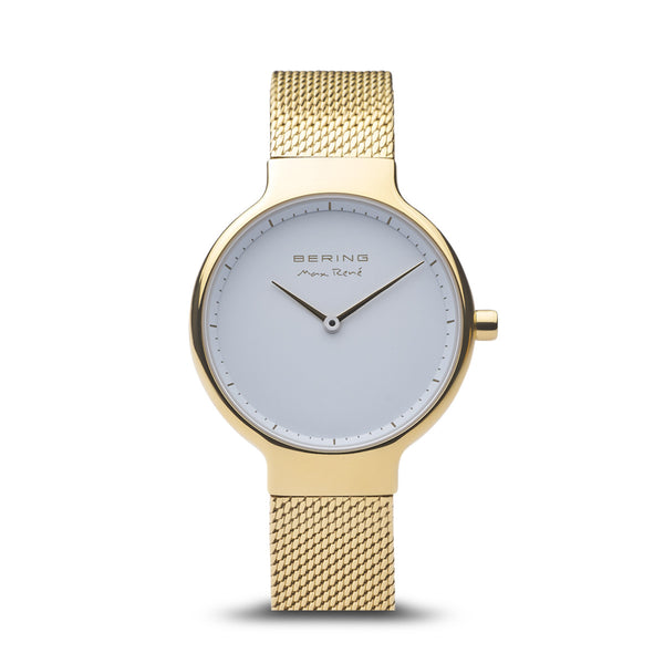 Bering Max René Polished Gold Watch 31mm
