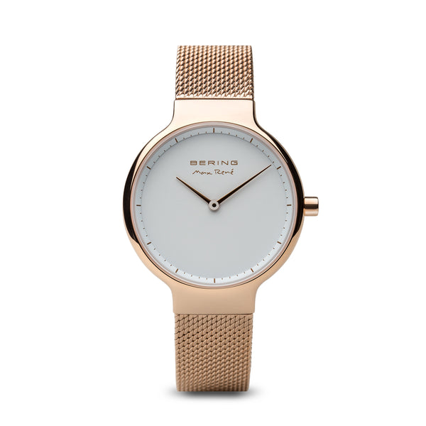 Bering Max René Polished Rose gold Watch 31mm