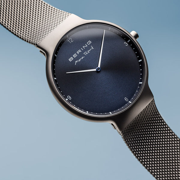 Bering Max René Brushed Grey Watch 40mm