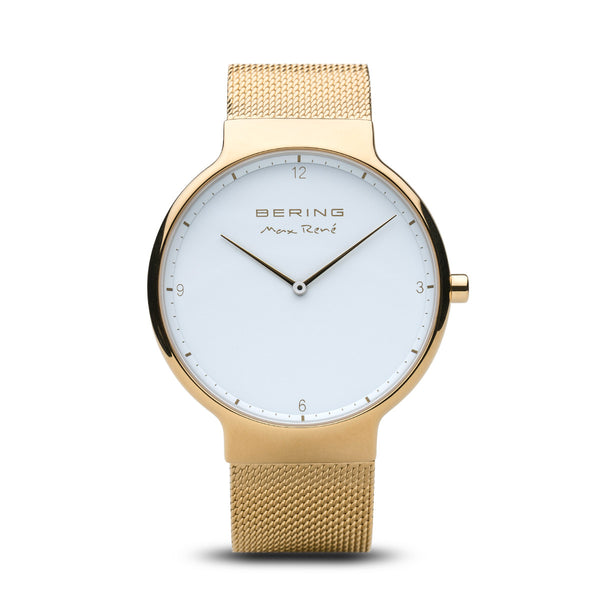 Bering Max René Polished Gold Watch 40mm