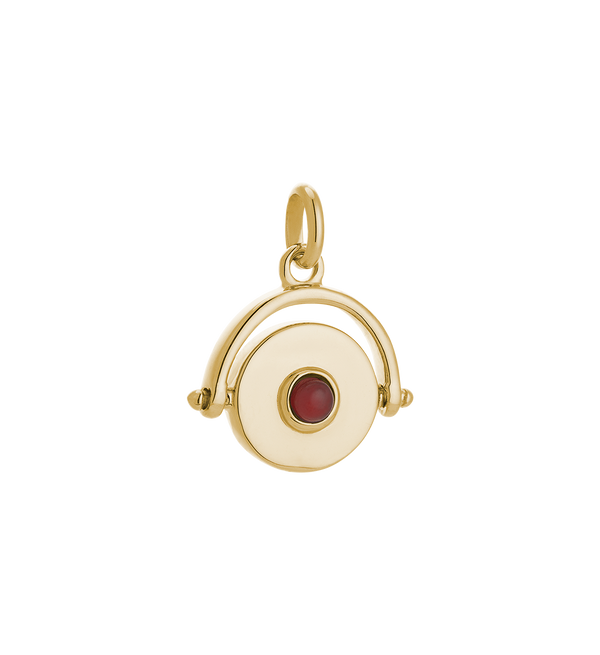 Kirstin Ash Protection Spinner- 18k gold vermeil