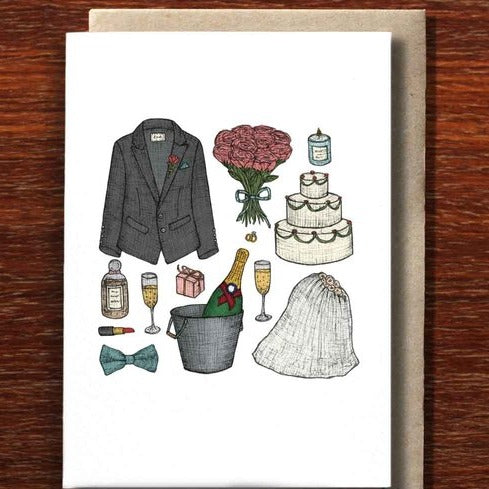 The Nonsense Maker Wedding Keepsakes - Greeting Card