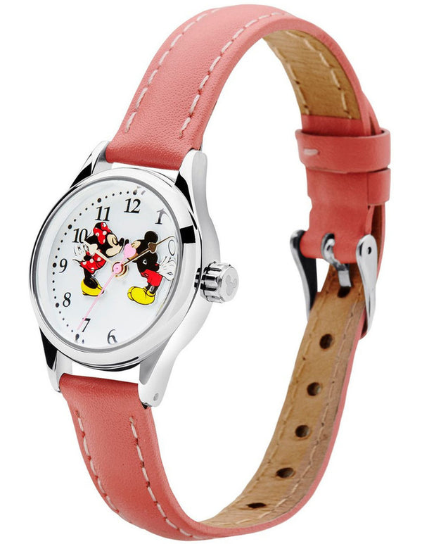 Disney Original Mickey and Minnie in Love Pink Watch