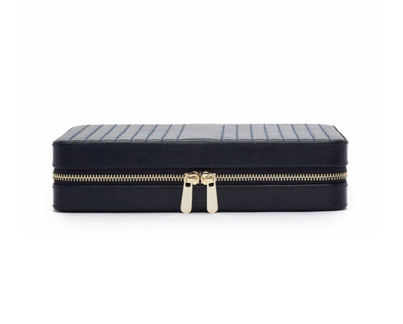 Wolf 1834 Maria Large Zip Case- Navy
