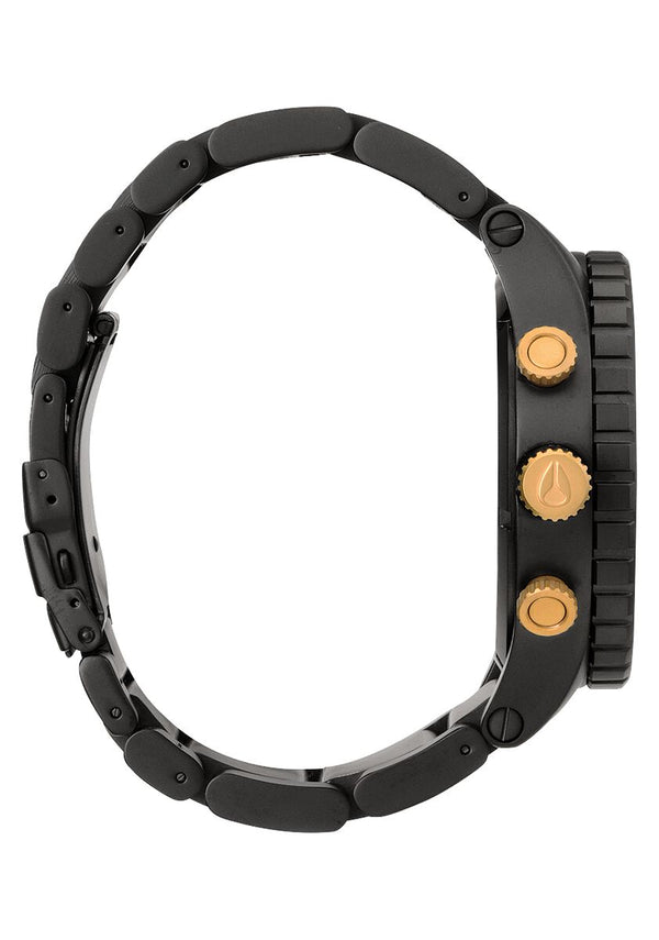 Nixon 51-30 Chrono Watch Matte Black / Gold