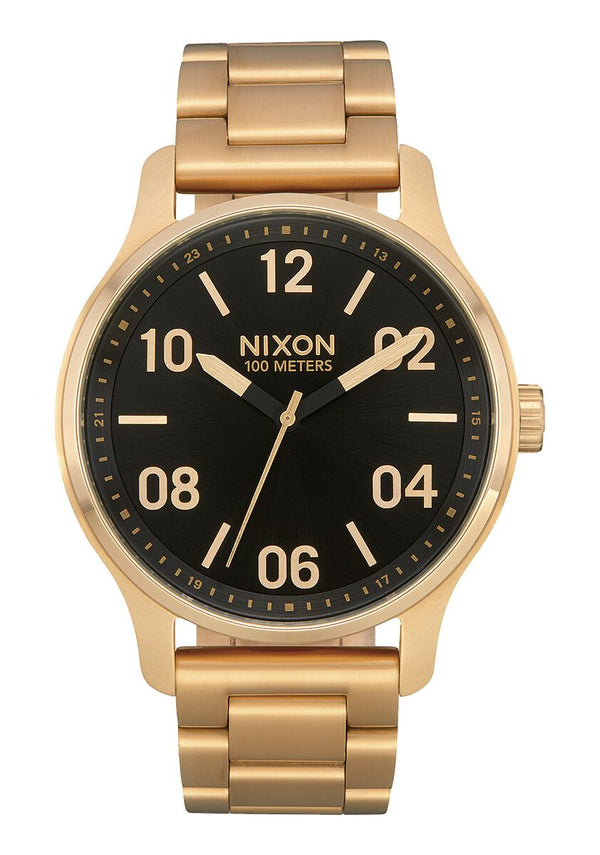 Nixon Patrol Gold/ Black Watch